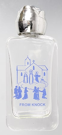 Knock Glass Holy Water Bottle