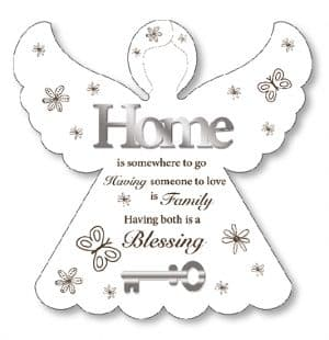 Home Blessing Wood Plaque