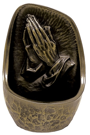 Praying Hands Florentine Resin Font
