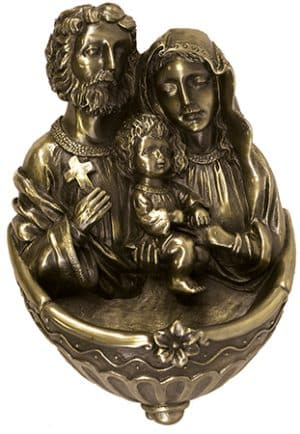 Holy Family Florentine Resin Font