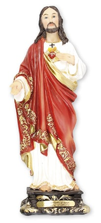 Sacred Heart Florentine Statue