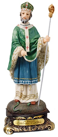 St Patrick Florentine Statue