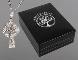 Sterling Silver Celtic Cross Chain