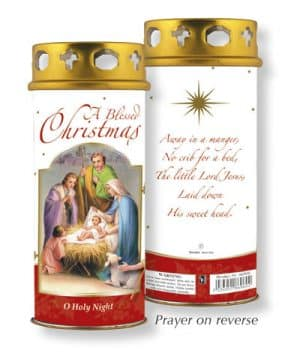 Christmas Blessings Candle Windproof Cap