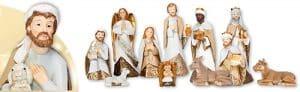 11 Piece Resin Nativity Set