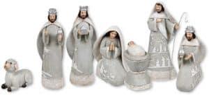 7 Piece Resin Nativity Set