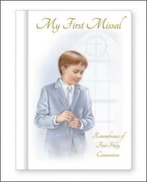 Communion Book Boy