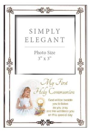 Communion Photo Frame Girl