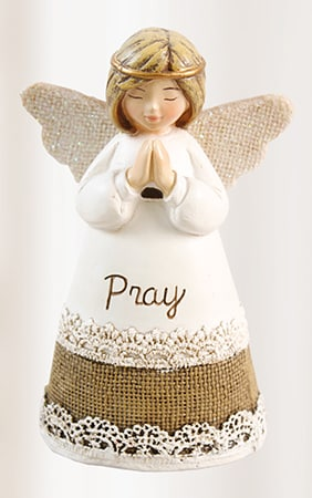 Angel Resin Statue – Pray