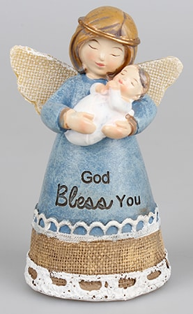 Angel Resin Statue  – Baby Boy