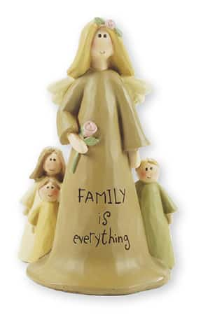 "Resin 4"" Angel – Family is everything"
