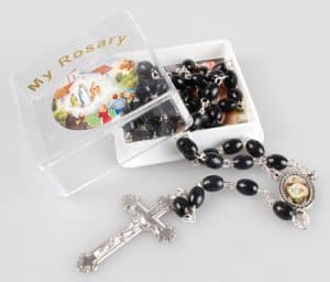 Knock black Beads
