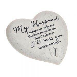 Husband – Heart Shaped Stone