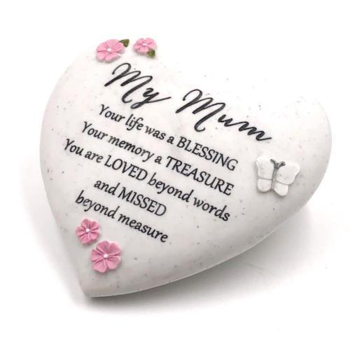 Mum Heart Grave