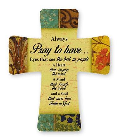 pray cross
