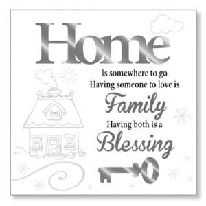 House Blessing Wood Plaque