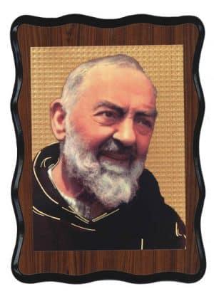 Saint  Padre Pio Laminated Picture