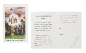 I Prayed For You At Knock Cards (Pack of 10)