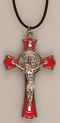 Benedict Crucifix – Red