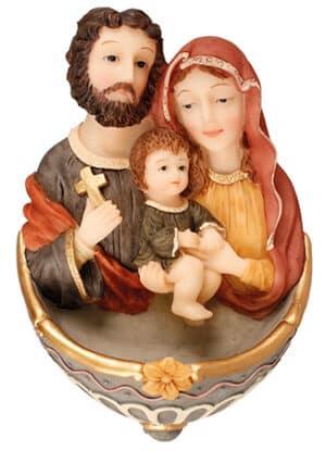 Holy Family Florentine Font