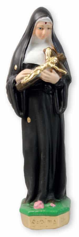 St. Rita Chalk Statue