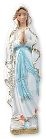Lourdes statue