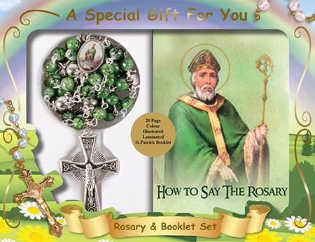 St Patrick Beads & Book