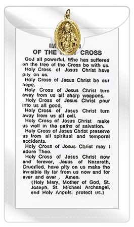 Imitation Of The Cross Medal & Leaflet (Pack of 10)