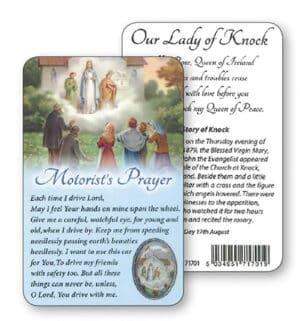Knock Motorist Prayer Card (Pack of 5)
