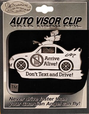 Car Visor – Don't Text & Drive