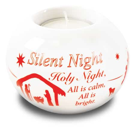 Silent Night Candle