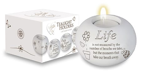 Life Candle Holder