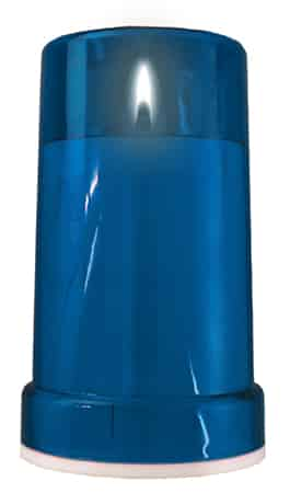 Battery Grave Light – Blue