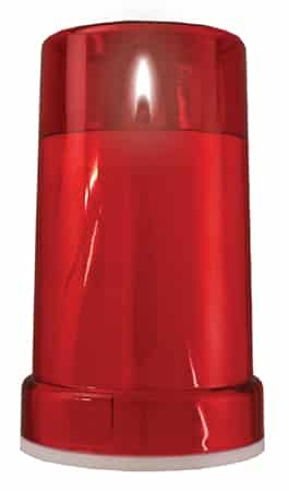 Battery Grave Light – Red