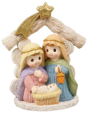Resin Kids Nativity – Holy Family