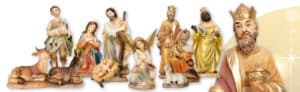 11 Piece Resin Nativity Set