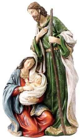 Resin Holy Family Nativity