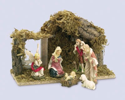 Nativity Wood Shed