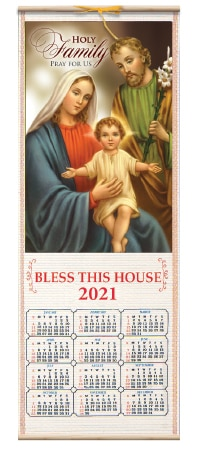 Holy Family Calendar