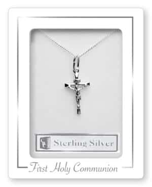 Communion Sterling Silver Necklet/Crucifix