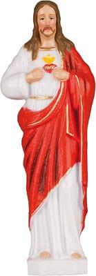 Sacred Heart Unbreakable Plastic Statue