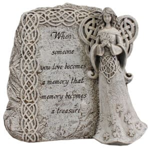 Resin Grave Statue – Celtic Angel