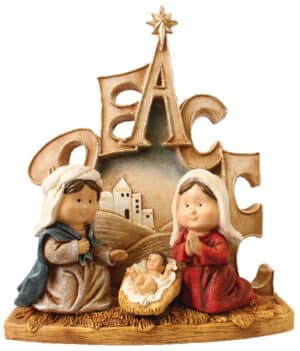 Resin Children's Nativity