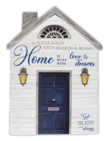 Home is built with