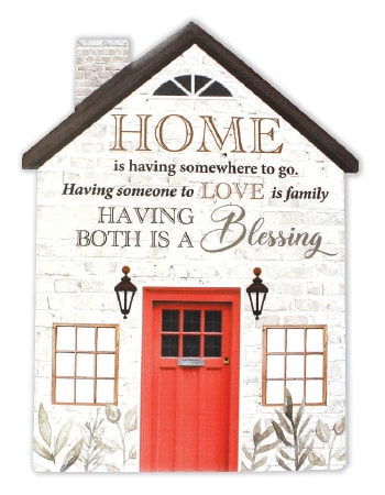 Home, Love Family plaque
