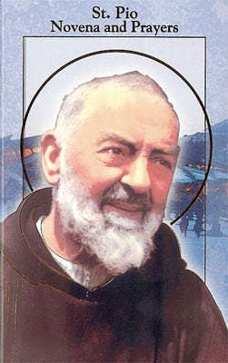 Booklet – Novena of Padre Pio