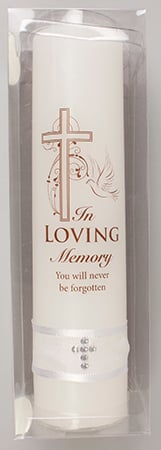 In Loving Memory Boxed Candle