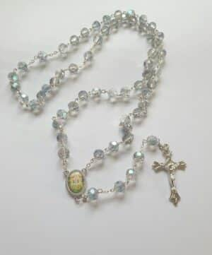 Knock Crystal Marea Rosary Beads