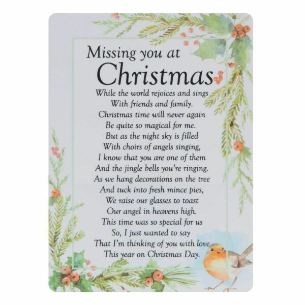 graveside missing you at christmas cards