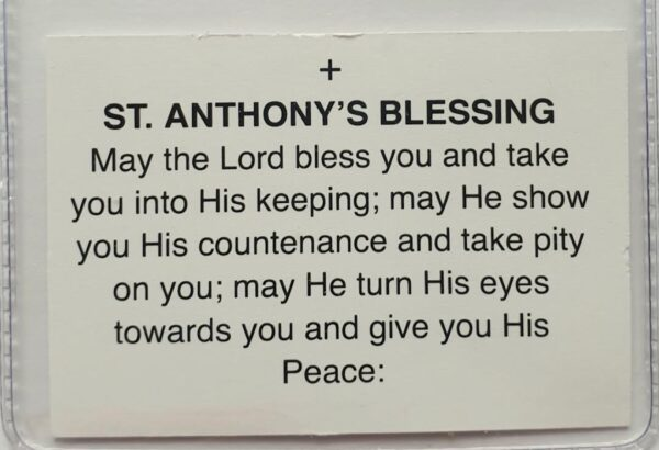 St. Anthony's blessing